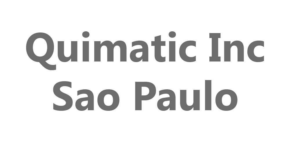 Quimatic Inc, Sao Paulo